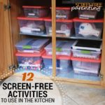 12 screen-free activities for the kitchen