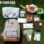 TAKE ME TO THE PARK BAG FOR KIDS everything you need to park like a boss