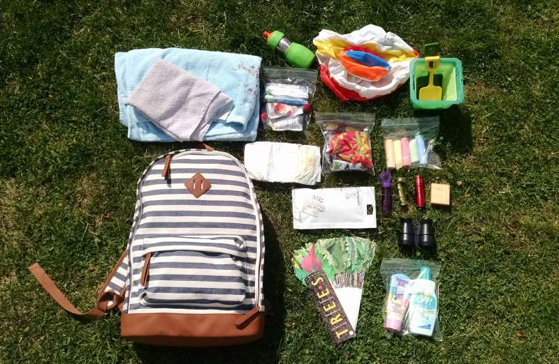 Take me to the park bag - Screen Free Activity