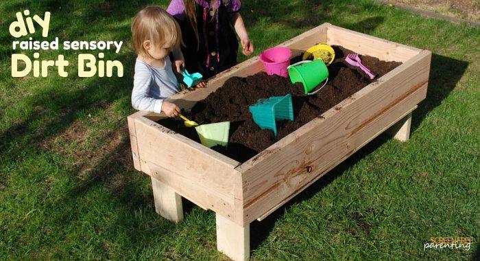 DIY Raised Garden Bed For Kids