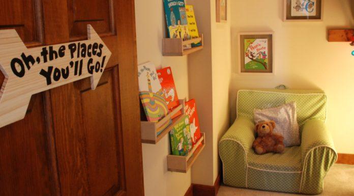 dr seuss reading nook for kids