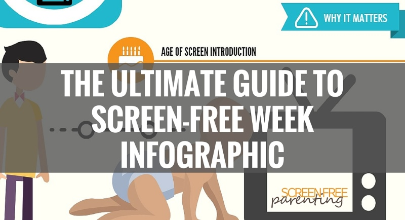 screen-free week infographic top of post image screen-free parenting web