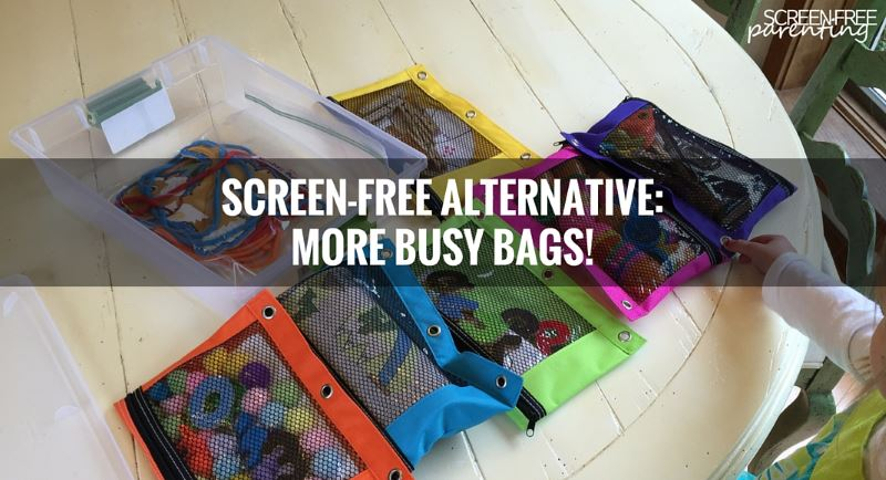 more busy bags for screen-free fun