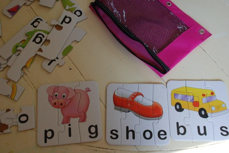 Screen-Free Busy Bag for Preschooler