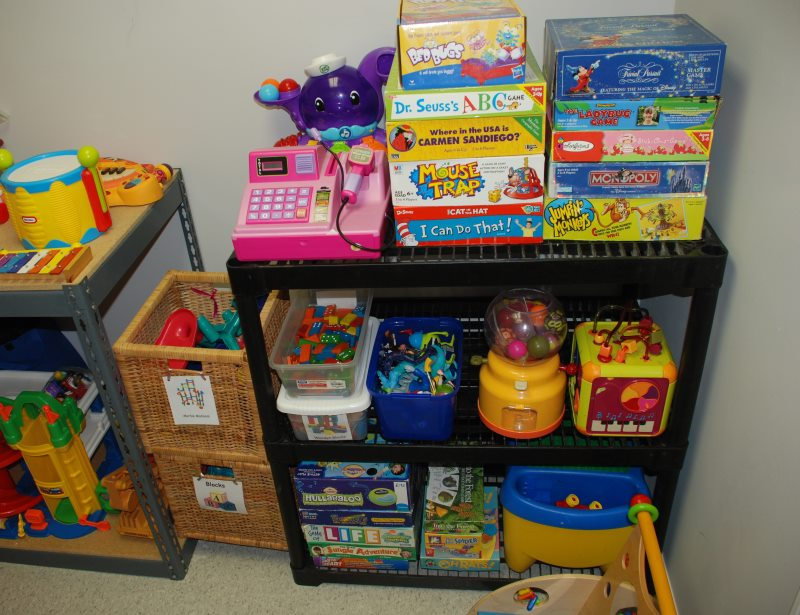 Reducing Clutter a toy library: keeping toys interesting while reducing clutter