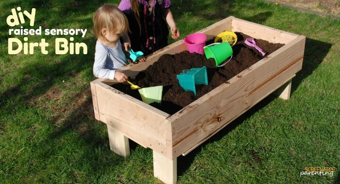 DIY Raised Garden Bed For Kids