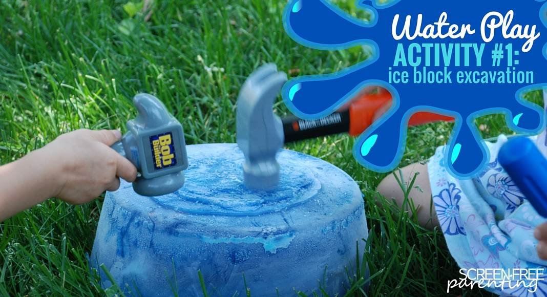 10 Water Play Activities For Kids Excavation