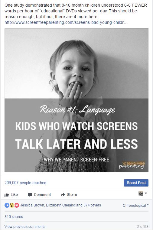 Why Is Screentime Bad For Young Children >> New Screen Time Research Supports The Screen Language Delay